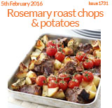 Rosemary Roast Chops and Potatoes