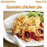 Spanish Chicken Pie