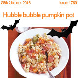 Hubble Bubble pumpkin pot