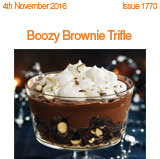 Boozy Brownie Trifle