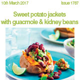 Sweet potato jackets