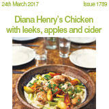 Diana Henrys chicken with leeks