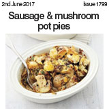 Sausage and Mushroom Pot Pie